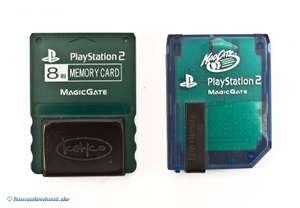 Memory Card / Memorycard / Speicherkarte 8 MB [verschiedene Hersteller]