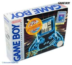 Konsole + Tetris + Super Mario Land #grau
