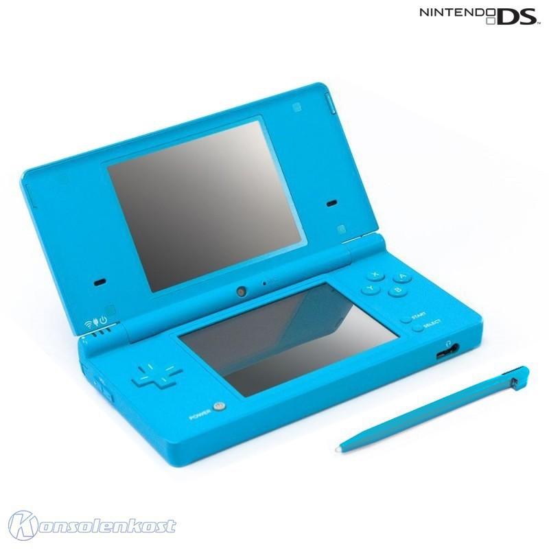 Nintendo DS - Konsole DSi #Light Blue + Netzteil