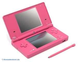 Konsole DSi #pink rosa + Netzteil
