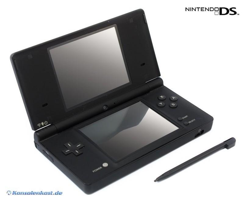 Nintendo DS - Konsole DSi #schwarz + Netzteil