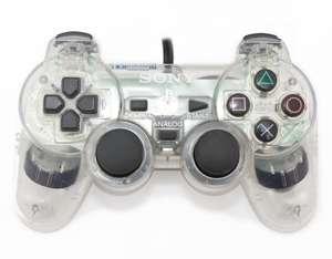 Original Sony Dualshock 2 Controller / Pad SCPH-10010 #transp.