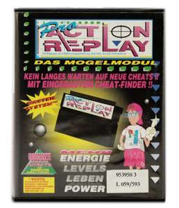 Action Replay Pro 1. Edition #schwarz