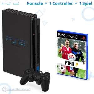 Konsole #schwarz + Gratisspiel + Controller + Zubehör