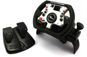 Lenkrad / Racing / Steering Wheel mit Pedale #Williams F1 [Joytech]