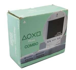 Konsole PSOne Slim + Sony TFT Monitor + Controller + Zubehör