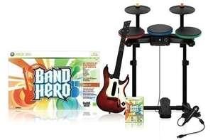 Band Hero #Band Pack + Spiel + Schlagzeug + Gitarre + Mikrofon
