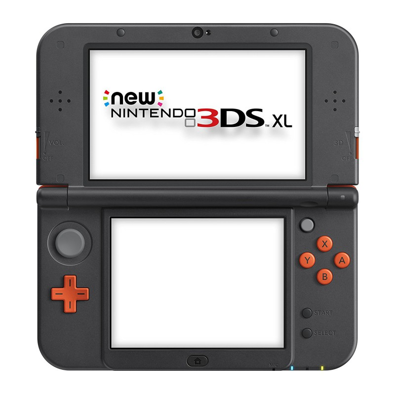 Nintendo New 3DS - Konsole XL #Orange Black + Netzteil
