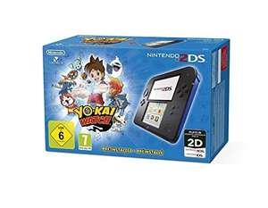 Konsole #schwarz-blau Yo-Kai Watch Edition + Spiel + Netzteil