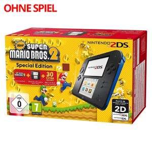 Konsole #schwarz-blau Mario Bros. 2 Edition + Netzteil