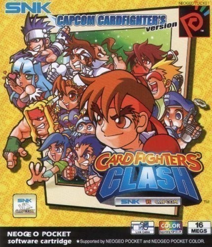 Neo Geo Pocket Color - Card Fighters Clash