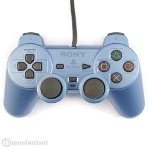 Original Sony Dualshock 2 Controller / Pad SCPH-10010 #blau