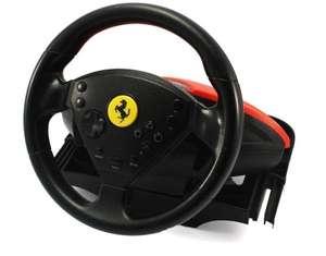 Lenkrad / Racing / Steering Wheel #schwarz-rot Ferrari [Thrustmaster]