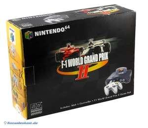 Konsole #F1 World GP Pak + Original Controller + Spiel + Zubehör
