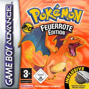 Pokemon Feuerrote Edition