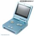 Konsole GBA SP AGS-101 #Arctic Blue + Netzteil