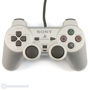Original Sony Dualshock 2 Controller / Pad SCPH-10010 #silber