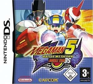 Mega Man Star 5 Battle Network Double Team