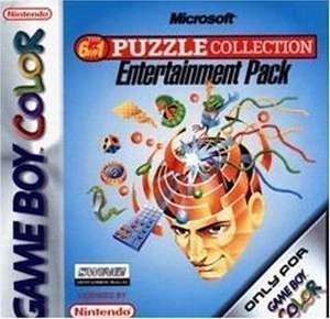Microsoft the 6 in 1 Puzzle Collection Entertainment Pack