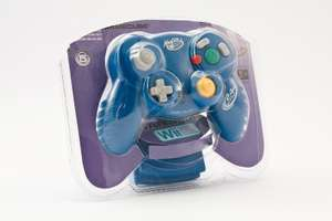 Controller / Pad #blau MicroCon Wireless [Madcatz]