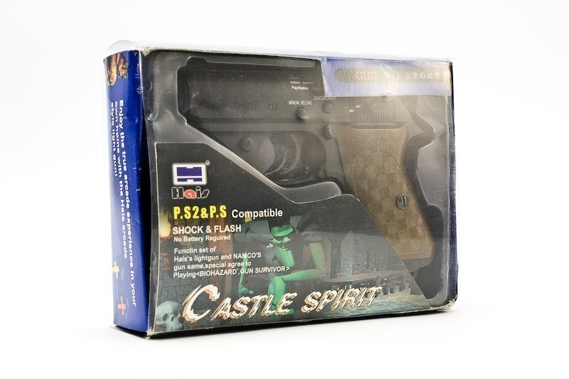 Light Gun / Pistole / Phaser #schwarz Castle Spirit
