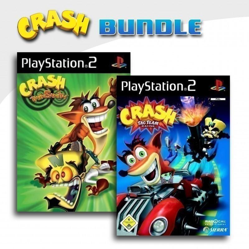 Crash Bandicoot: Twinsanity + Crash: Tag Team Racing