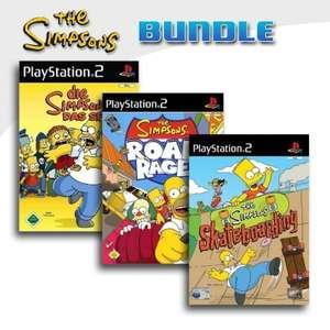 Die Simpsons - Das Spiel + Simpsons - Road Rage + Simpsons Skateboarding