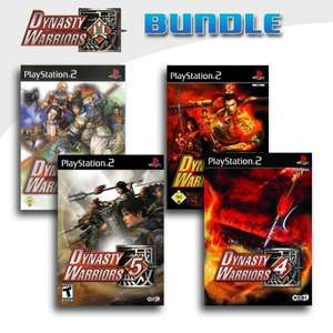 Dynasty Warriors 2 + Dynasty Warriors 3 + Dynasty Warriors 4 + Dynasty Warriors 5