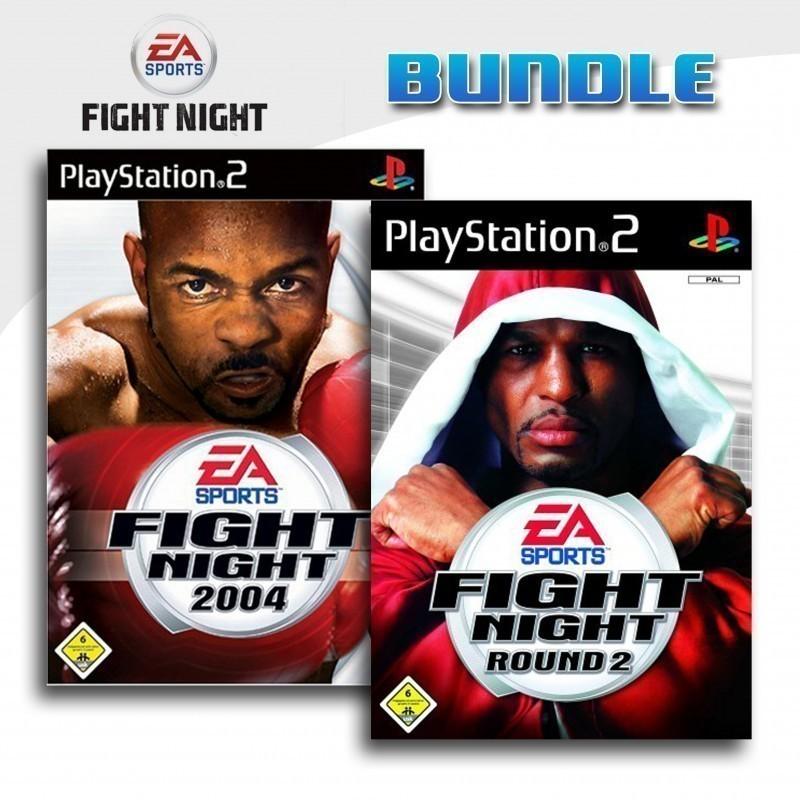 EA Sports Fight Night 2004 + Fight Night Round 2