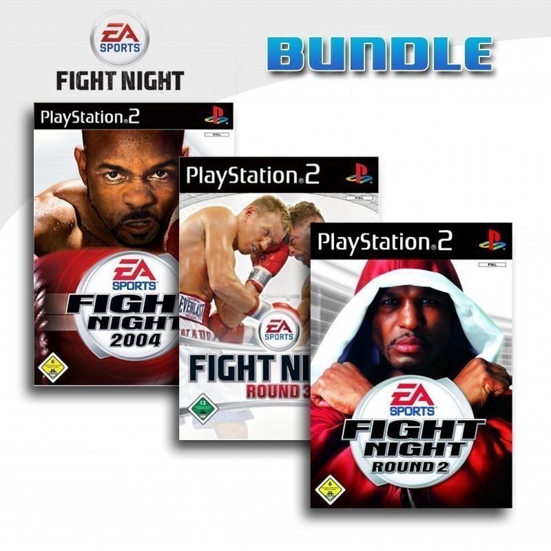 EA Sports Fight Night 2004 + Fight Night Round 2 + Fight Night Round 3
