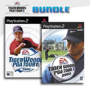 Tiger Woods PGA Tour 2001 + Tiger Woods PGA Tour 2003
