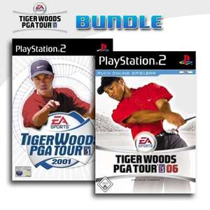 Tiger Woods PGA Tour 2001 + Tiger Woods PGA Tour 06