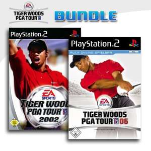 Tiger Woods PGA Tour 2002 + Tiger Woods PGA Tour 06