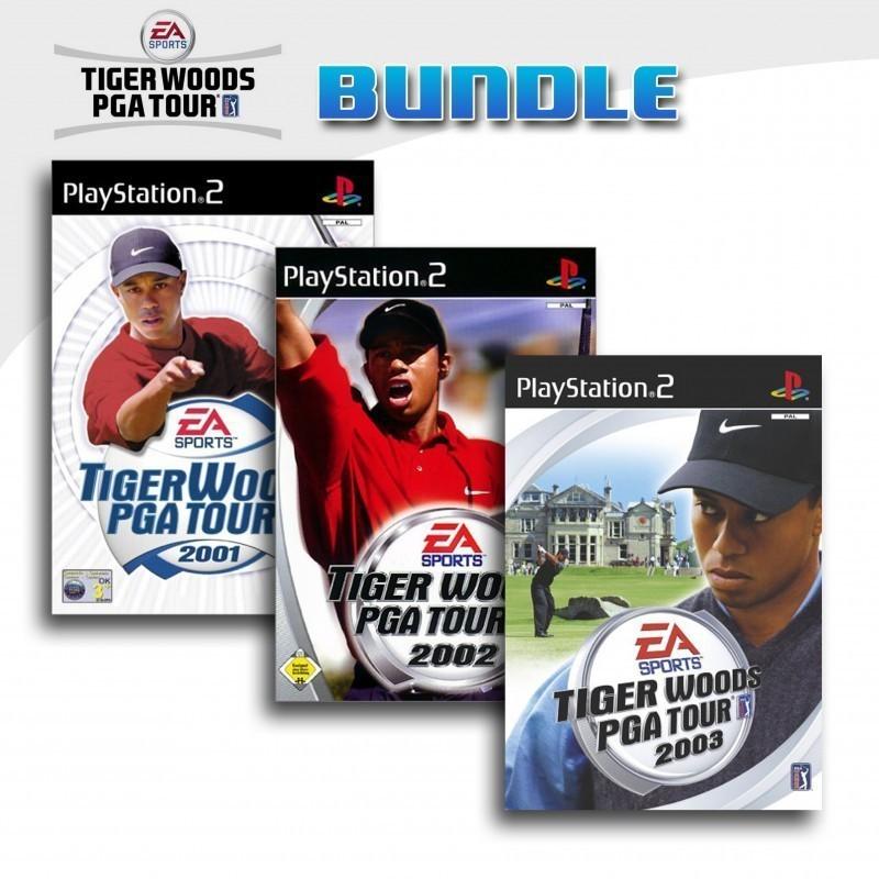 Tiger Woods PGA Tour 3er Pack 1