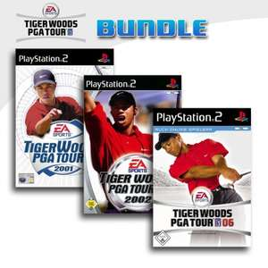 Tiger Woods PGA Tour 3er Pack 4
