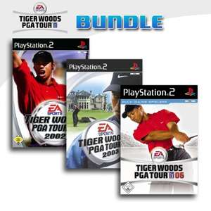 Tiger Woods PGA Tour 3er Pack 9
