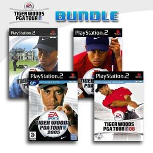 Tiger Woods PGA Tour 4er Pack 10