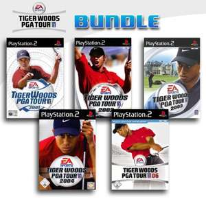 Tiger Woods PGA Tour 5er Pack 2