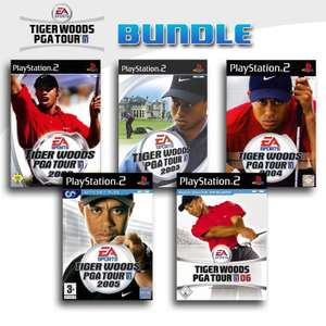Tiger Woods PGA Tour 5er Pack 5