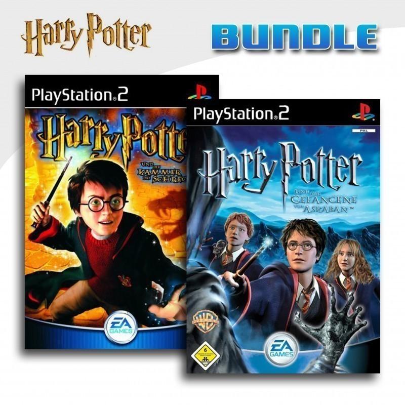 Ps2 Harry Potter Und Die Kammer Des Schreckens Der Gefangene Von Askaban Mit Ovp Gebraucht Playstation 2 Ps2 Spiele Action Adventure