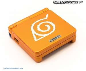 Konsole GBA SP #Naruto Special Edition + Netzteil SELTEN!