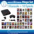 MegaSet: Konsole MD2 + 10 Spiele + Original Controller