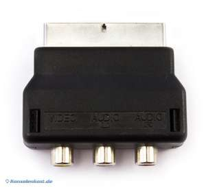 Original Nintendo Scartadapter / Cinch - Scart - Adapter