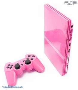 Konsole Slim #pink + Original DualShock Controller + Zubehör