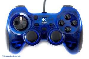 Controller / Pad #blau Action Gamepad [Logitech]