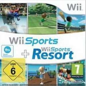 Wii Sports Resort + Wii Sports