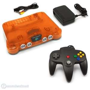 Konsole #Fire Orange + Controller #schwarz + Zubehör