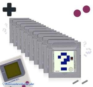 Wundertüte: 10 Original GameBoy Spiele