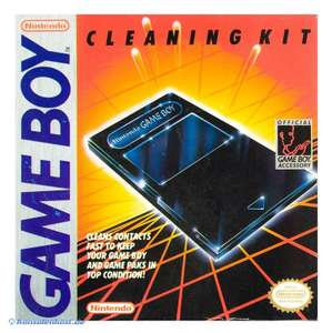 Original Nintendo Cleaning Kit / Kontaktereiniger