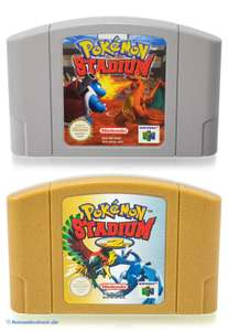 Pokemon Stadium 1 + 2